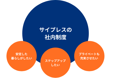 サイプレスの社内教育・研修制度
